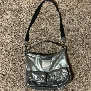 Limited Edition Silver Poppy Coach Purse
